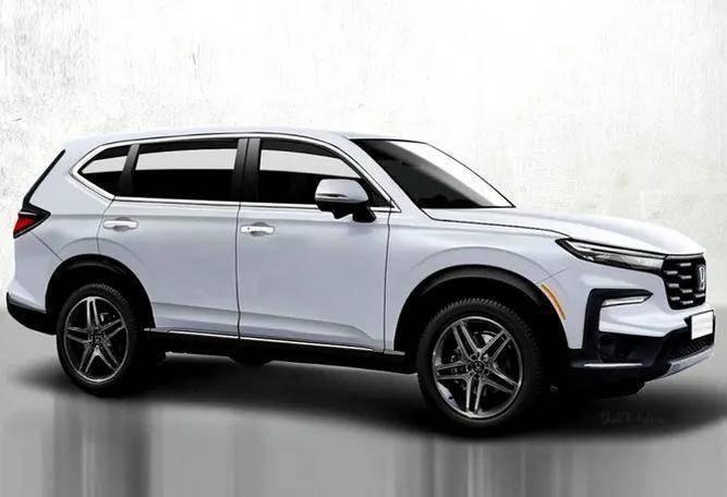 2022款本田CRV华丽转身,1.5T+7座,号称最强本田SUV