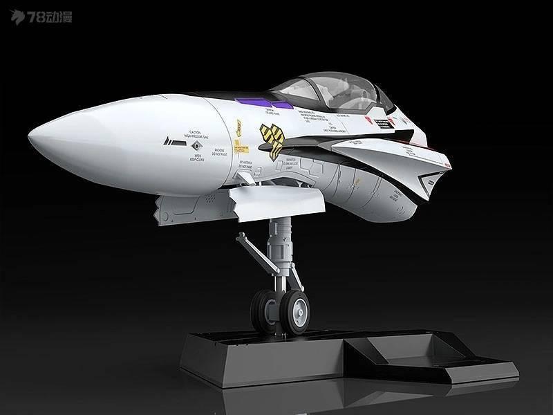 模玩资讯:MaxFactory机首收藏系列1/20<超时空要塞F>VF-25Fy3h