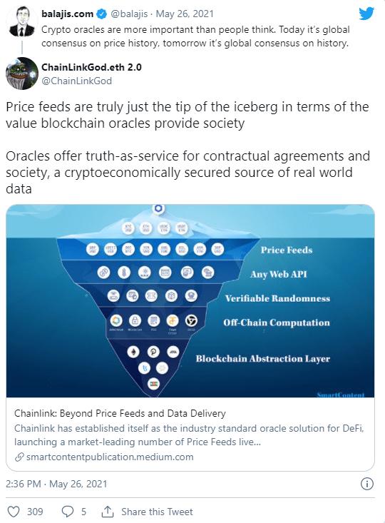 一文读懂区块链预言机:Oracle为什么这么重要?  第2张 一文读懂区块链预言机:Oracle为什么这么重要? 币圈信息
