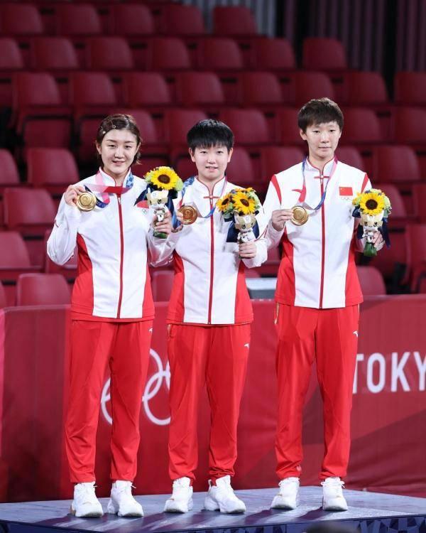 东京奥运会|中国队夺得乒乓球女团冠军