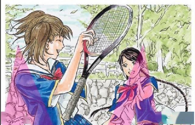 许斐刚「龙马!新生剧场版网球王子」特典插画卡公开插图(2)