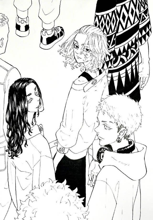 「东京卍复仇者」公开佐野万次郎生日贺图插图