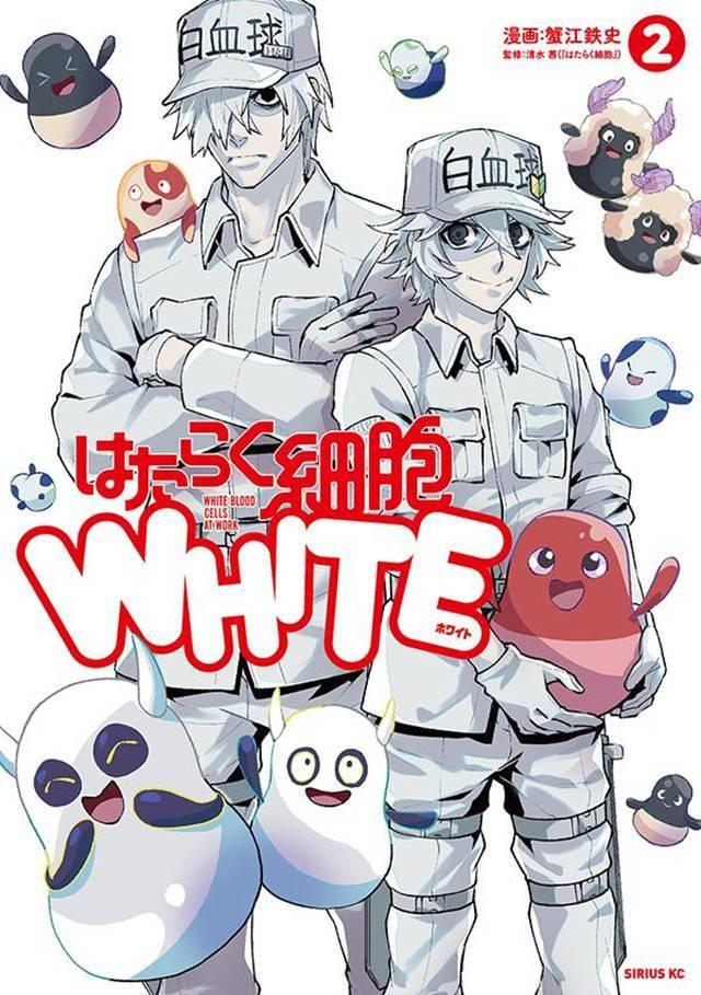 漫画「工作细胞WHITE」第2卷封面公开插图