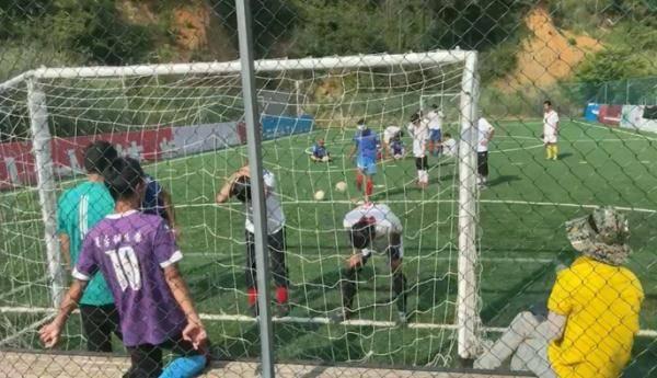 盲人足球比赛