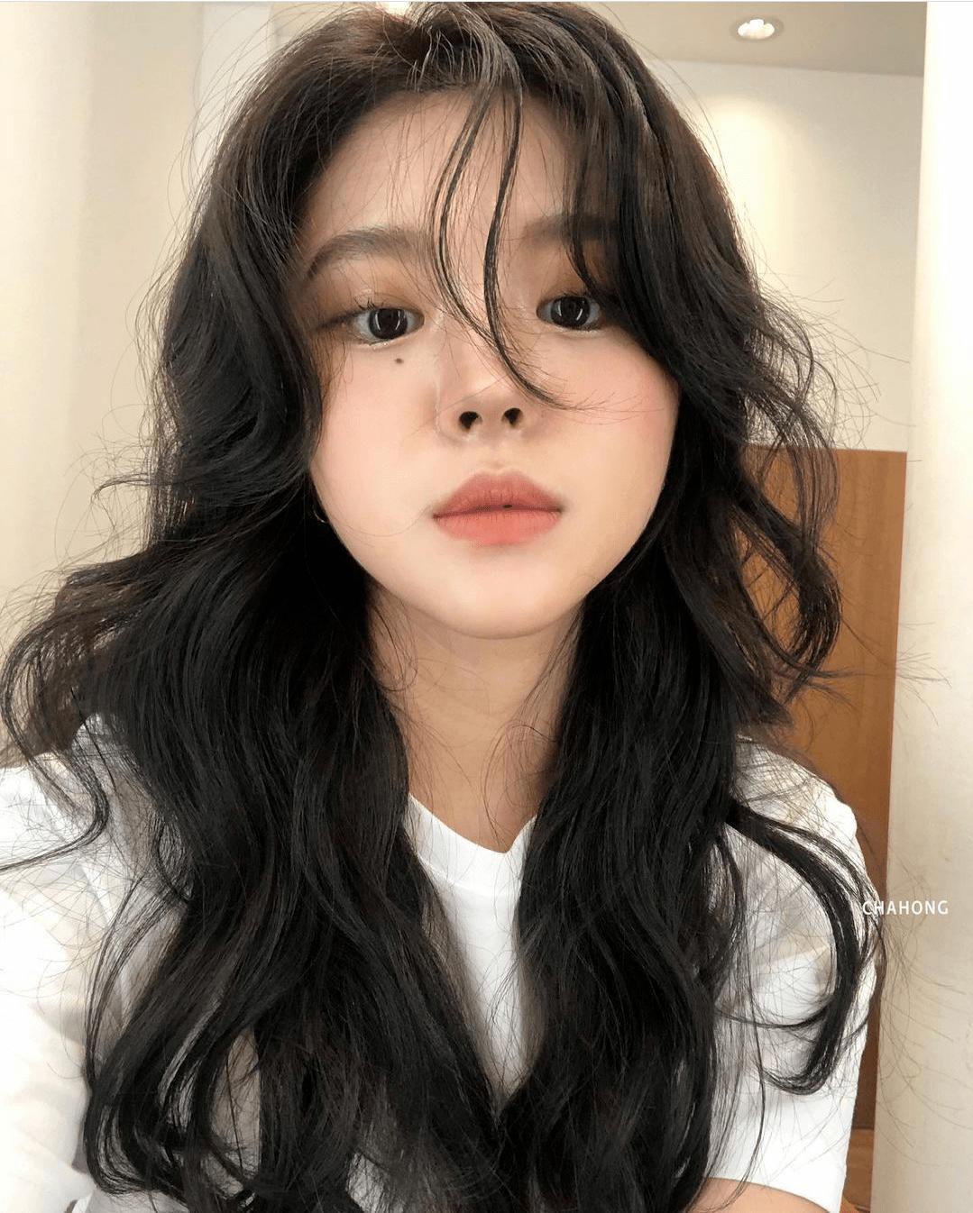 她的发型,清爽好看显脸小!