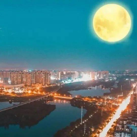 """月是故乡明!孝感这些""""最佳赏月地"""",不容错过!"""