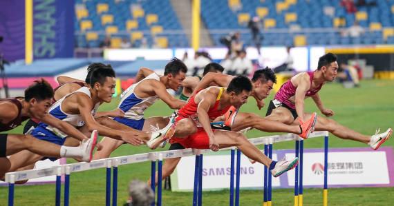 全运会|姜还是老的辣!谢文骏全运三连冠追平刘翔纪录