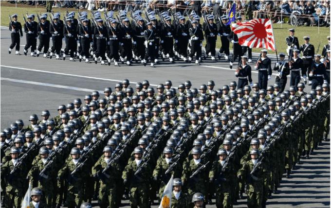 这场特殊时刻的罕见大型军演,把日本彻底暴露了!