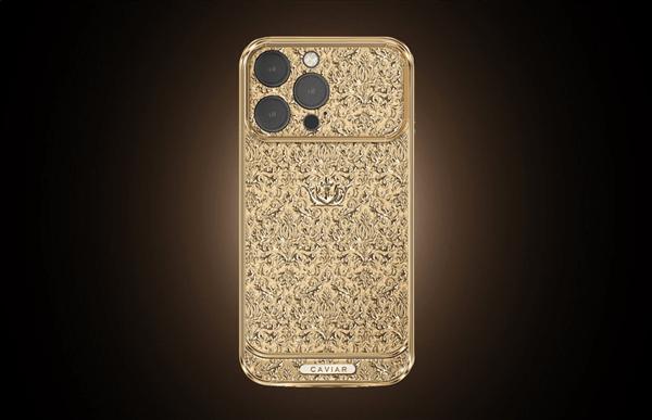 18K纯金打造!史上最贵iPhone 13 Pro上架:起售价27万元
