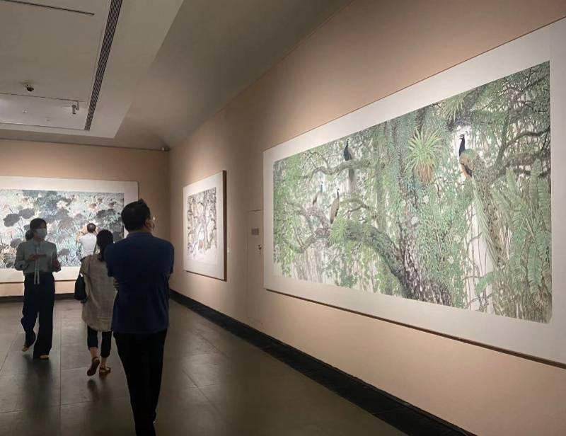 """""""方楚雄的艺术世界"""",思考从世界艺术系统中观看花鸟画tiu"""